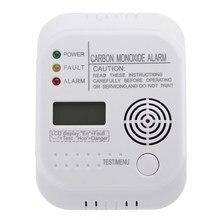 CO детектор угарного газа с ЖК-дисплеем, цифровой датчик безопасности дома, датчик безопасности
