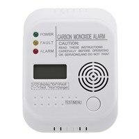 NEW CO Carbon Monoxide Alarm Detector LCD Digital Home Security Indepedent Sensor Safety