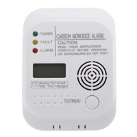 NEW CO Carbon Monoxide Alarm Detector LCD Digital Home Security Indepedent Sensor Safety