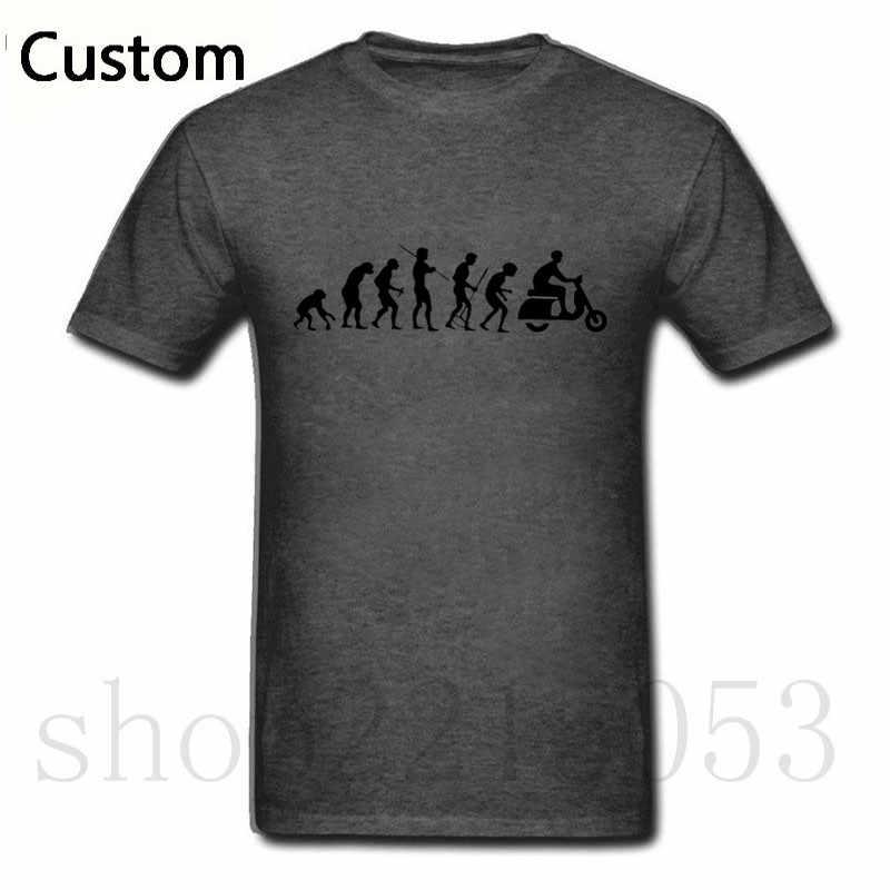 2019 T shirts Men KTM Motorcycle Rider Evolution Scooter Vespa Black Short Sleeve ajax white TShirt Printed Male fashion T-shirt