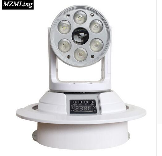 New Wash/Beam 2-In-1 Stage Light 6*10w RGBW 4-In-1 Wash Light 1*15w RGBW 4-In-1 Beam Light DJ/Bar/Party DMX512 Moving Head Light