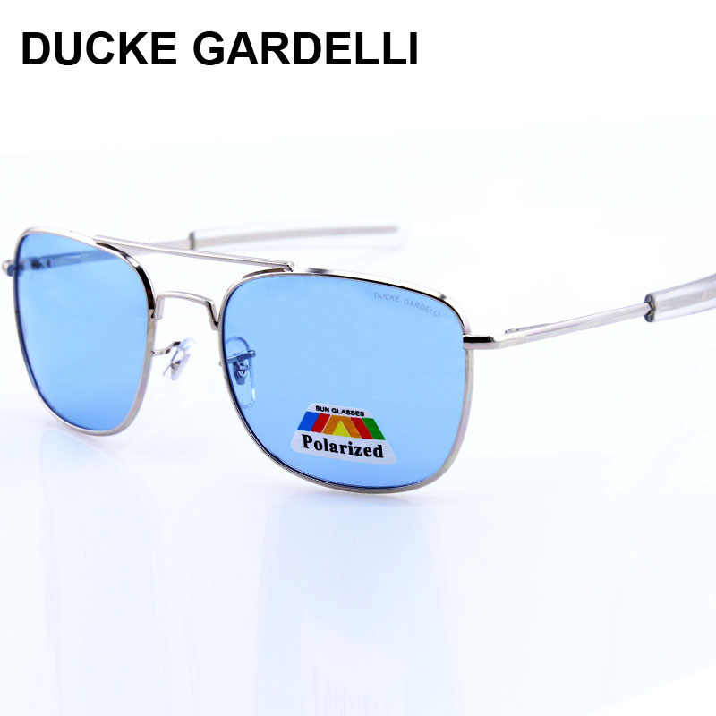 8aa6c13631 DUCKE GARDELLI air force glasses Flyer Army Men Metal Polarized 57 mm 52 mm  military DRIVING