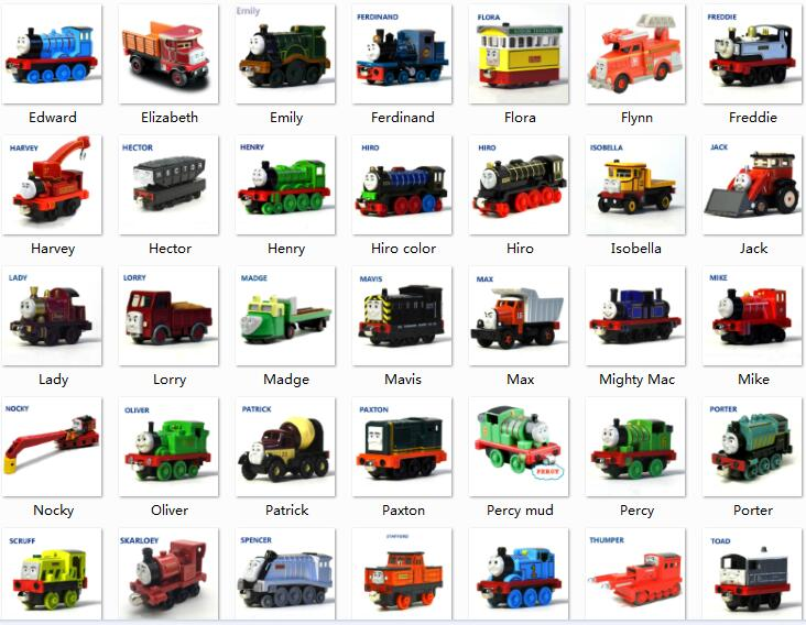 Classic Diecast Trains Magnetic Connector Magnetic Tailsor Advanture Train Kids Toys Engine Railway Toy For Children