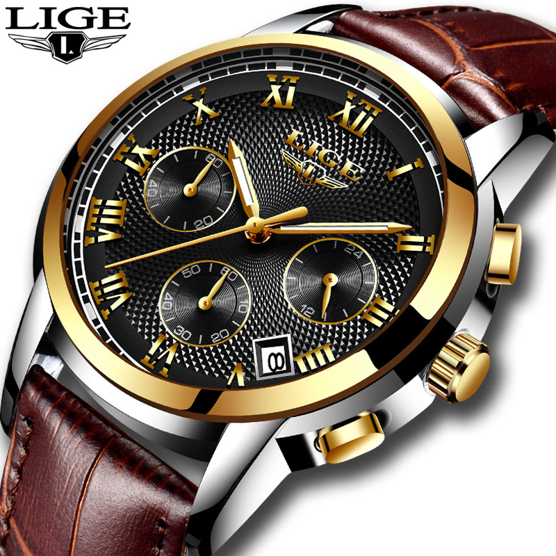 mens watches Fashion Brand LIGE Multifunction Chronograph Quartz Watch Military Sport watch men Male Clock Relogio Masculinomens watches Fashion Brand LIGE Multifunction Chronograph Quartz Watch Military Sport watch men Male Clock Relogio Masculino