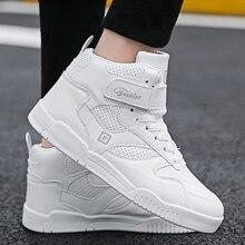 Ceyue Скейтбординг обувь Для мужчин высокие кроссовки на плоской подошве, с заклепками, на открытом воздухе Атлетическая спортивная обувь; ботинки «Челси»; на шнуровке; Zapatos