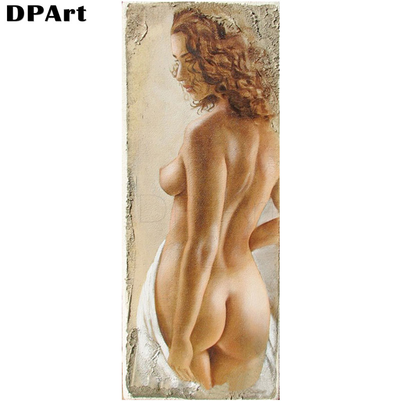 Diamond Painting 5D Full Square/Round Drill Sexy Woman Daimond Embroidery Painting Cross Stitch Mosaic Picture Decor Gift M138(China)