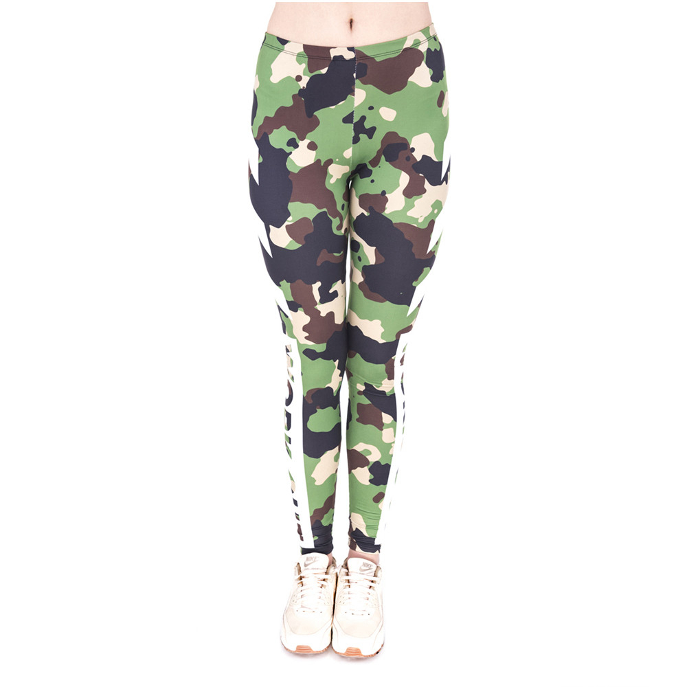 High Quality Fitness Legging Work Out Camo Printing Sexy Cozy Leggings High Waist Women Pants