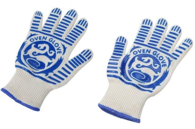 1 para Stricken Mikrowelle Hochtemperatur Hitzebeständige Handschuhe ...