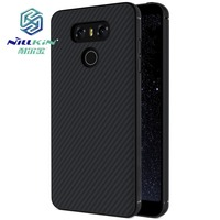 NILLKIN Synthetlc Flber Phone Case For LG G6 Hard Carbon Fiber Plastic Back Cover For LG