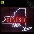 Gene see неоновая вывеска для пива  неоновые лампочки ручной работы  вывеска  Настоящая стеклянная трубка  Пользовательский логотип  знаковые н...