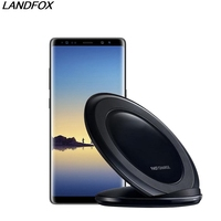 Fast Charge 2018 New Arrival Qi Wireless Charging Stand Dock Wireless Charger For IPhone X 8