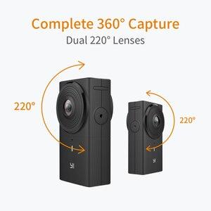Image 2 - YI 360 VR カメラデュアルレンズ 5.7 18K こんにちは解像度パノラマカメラ電子画像安定化、 4 18K インカメラステッチ