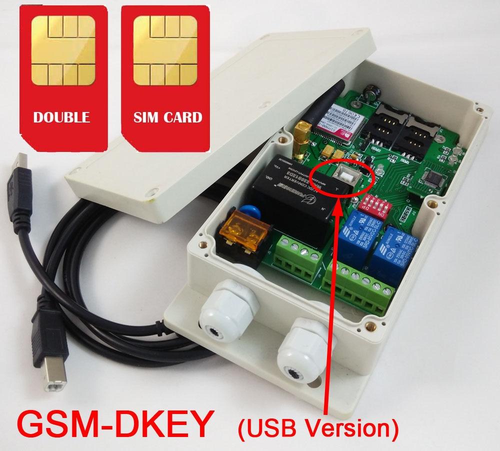 Doppelter Alarmeingang und doppelter Relaisausgang DUAL SIM-Karte - Schutz und Sicherheit - Foto 2