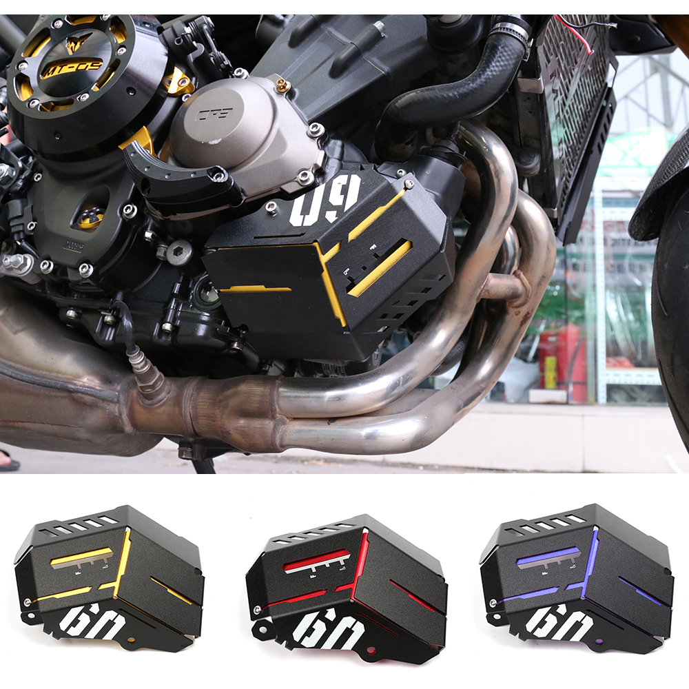 Motorcycle Accessories CNC Aluminum Alloy Radiator Side Grille Guard Cover Protector For Yamaha MT09 FZ09 MT 09 FZ 09 2014-2017 arashi motorcycle radiator grille protective cover grill guard protector for 2008 2009 2010 2011 honda cbr1000rr cbr 1000 rr