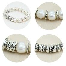 Natural pearl bracelet 925 silver