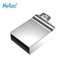 Netac Original U289 USB 2.0 Flash Drive 32GB Pen Drive Mini Memory Stick Full Metal Material Pendrive U Disk Thumb Drives