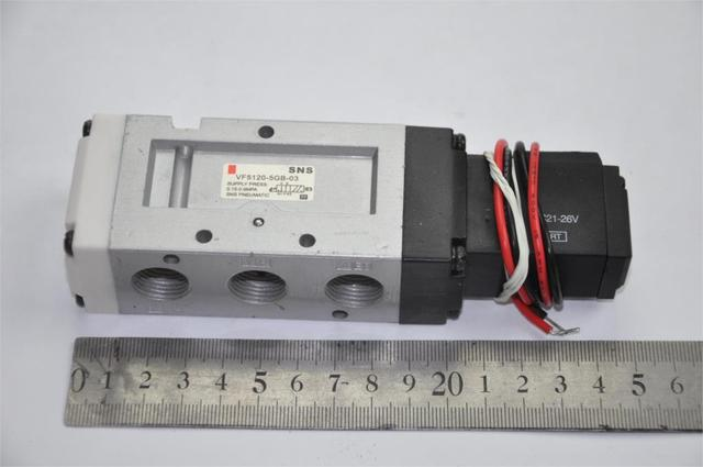 "Solenoid air pneumatic valve VF5120 5GB 02 3/8""BSPT SMC ..."