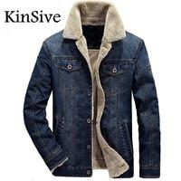 Men Jacket And Coats Brand Clothing Denim Jacket Fashion Men Jaqueta Masculino Jeans Jacket Thick Warm