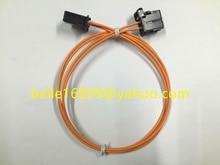 Frete grátis a maioria dos conectores de cabo de fibra óptica macho para masculino para audi bmw mercedes etc 120 cm novo original