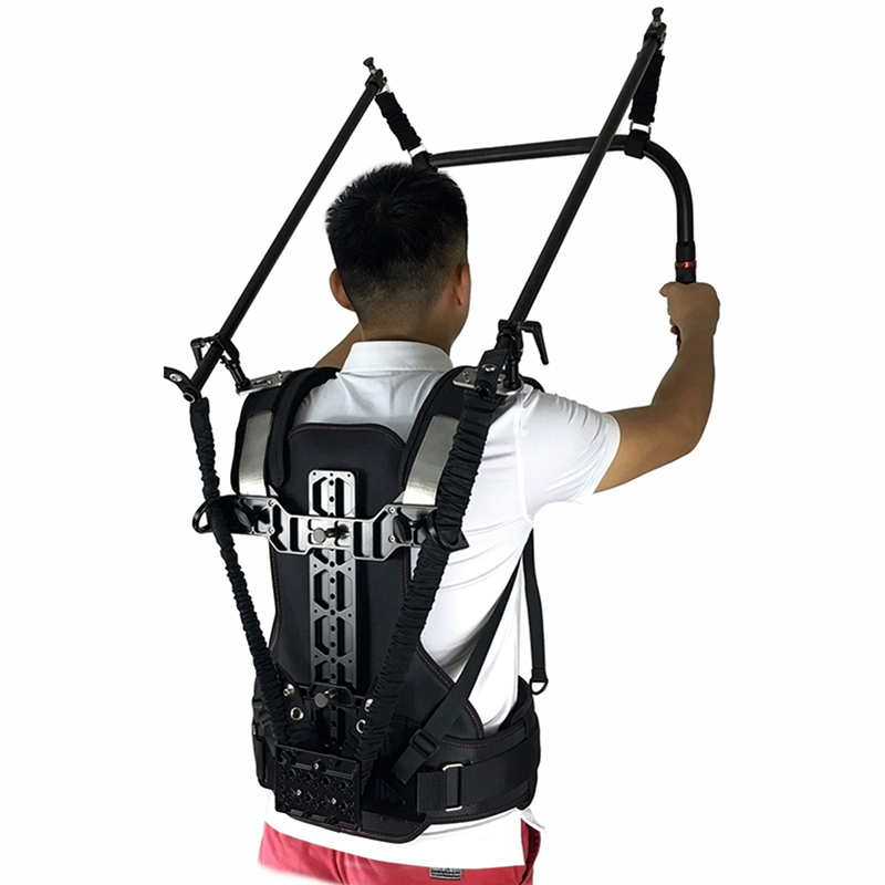 Like EASY RIG READY RIG Vest rig <font><b>Gimbal</b></font> Steadicam Telescopic arm 0.5-18kg for DJI ROIN <font><b>TILTA</b></font> 3-Axis <font><b>gimbal</b></font> Stabilizer RED ARRI image