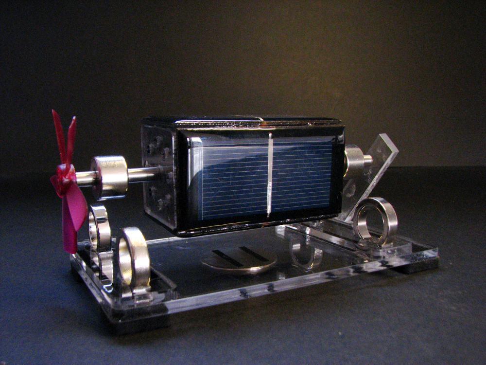435a2f30bd5 Brinquedo solar Mendocino Motor Hélice de suspensão magnética com Violeta  científico Física brinquedo em Brinquedos solares de Brinquedos no  AliExpress.com ...