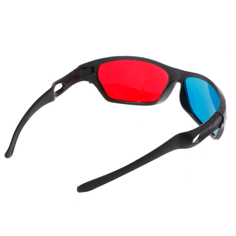 universal red blue anaglyph ar and 3d glasses for movie game and dvd video