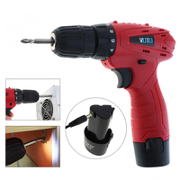 12V Electric Screwdriver Lithium Battery Rechargeable Parafusadeira Furadeira Multi Function Cordless Electric Tool