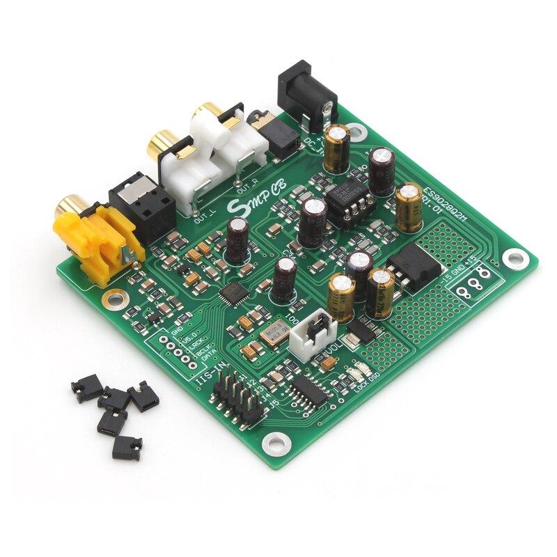 Flight Tracker Es9028 Q2m Dac Dsd Decoder Board Unterstützt Iis Dsd 384 Khz Coaxial Faser Eingang Fertig Bord Unterhaltungselektronik Digital-analog-wandler