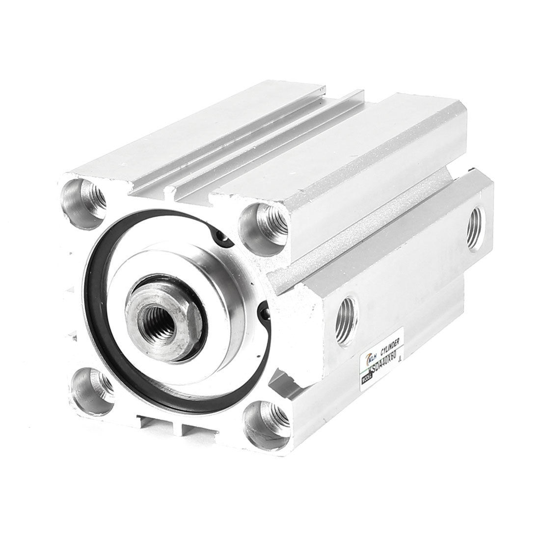 1 Pcs 63mm Bore 45mm Stroke Stainless steel Pneumatic Air Cylinder SDA63-45 10mm bore 45mm stroke 1rod pneumatic cylinder w orange red air compressor tube