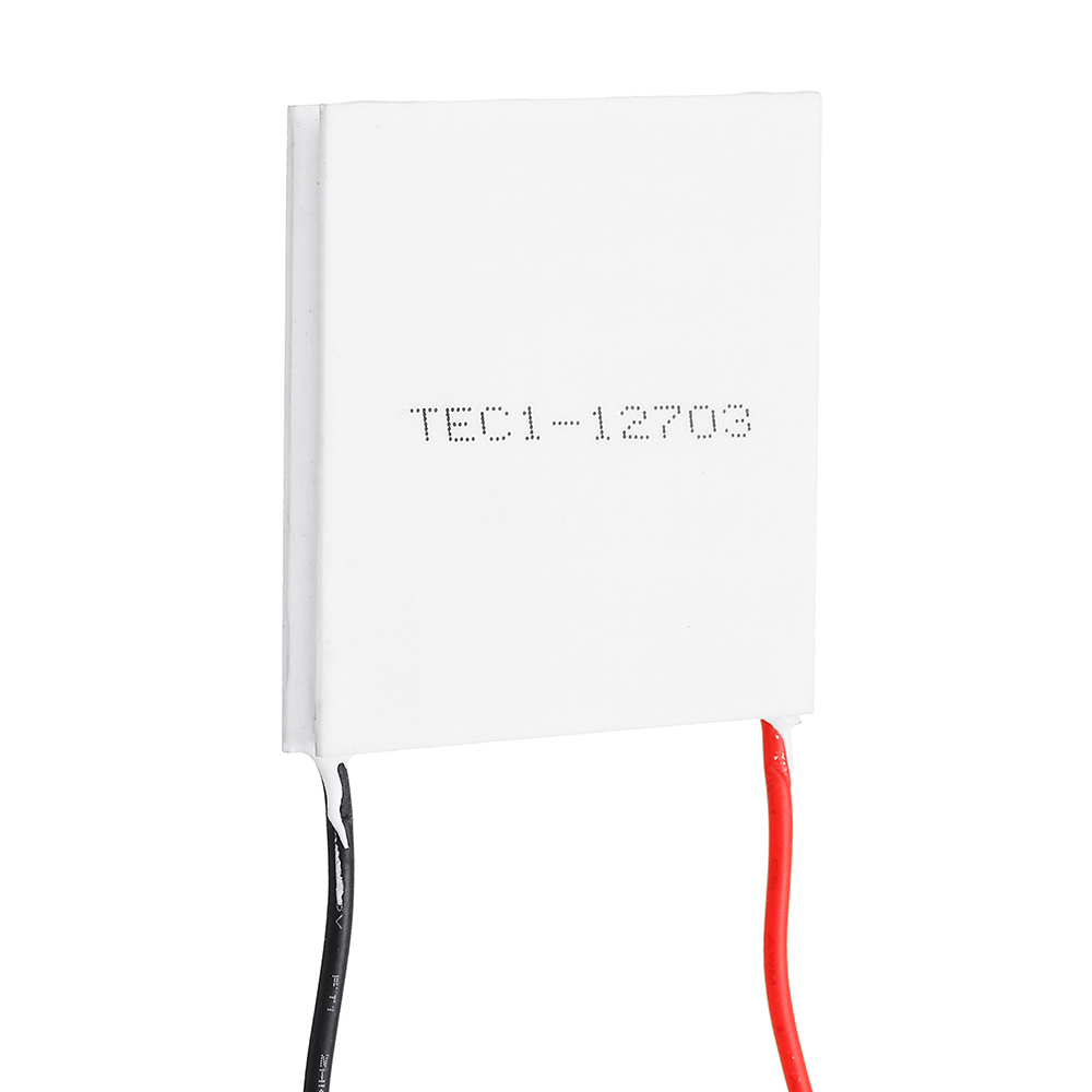 For TEC1-12703 40x40MM 12V3A Thermoelectric Cooler Peltier Refrigeration Plate