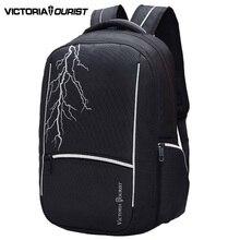 VICTORIATOURIST 15,6 zoll laptop rucksack männer/freizeit männer rucksäcke/computer rucksack für männer/V8008 schwarz