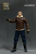1:6 Scale Military Soldiers 1/6 Alert Line AL100019 WWII Royal Air Force Pilot Figure Toy Collection full set figure toy
