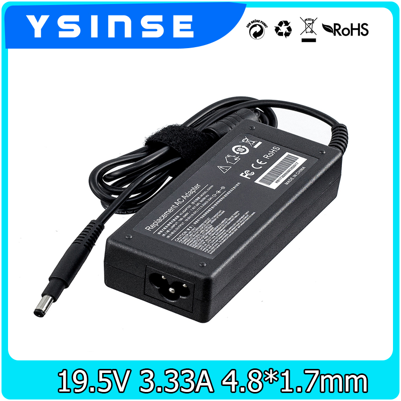 19.5V 3.33A 65W Power Supply AC Adapter Charger For Hp Laptop Notebook ENVY 4 6 SLEEKBOOK 4 6 4.8*1.7mm 19v 9 5a 19 5v 9 2a ac adapter tpc ba50 power charger for hp 200 5000 200 5100 200 5200 aio envy 23 1000 23 c000 23 c100 23 c200