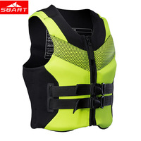 SBART Professional Life Vest Jacket Swim Adult Child Life Vest Jacket for Water skiing Surfing Swimming Drifting Sport Life Vest