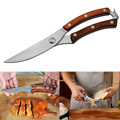 Küche Werkzeuge Edelstahl Geflügel Küche Huhn Knochen scissor mit Safe Lock Cutter Kochen Werkzeug scher cut Ente Fisch-in Scheren aus Werkzeug bei