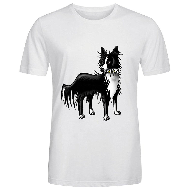 ᗗBorder Collie Bwt Homens Camisas de T - a452 842fbbdaff1d9