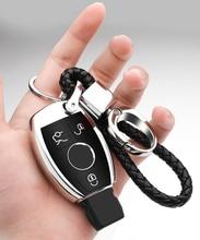 Car Key Fob Cover Protective Case for Mercedes Benz C E M S CLA CLS CLK GLC GLK G Class Premium Soft TPU Full