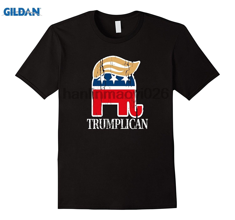 GILDAN Funny Trump Elephant Hair Toupee Shirt Trumplican Shirt
