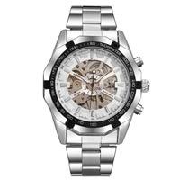 Winner Brand Mens Watches Top Luxury Fashion Skeleton Clock Men Sport Watch Automatic Mechanical Watches Relogio