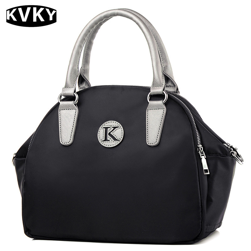 KVKY 2017 New Fashion Shell Women Handbags Casual Waterproof Nylon Messenger Bags Ladies Tote Bag Shoulder Crossbody Bags women handbag shoulder bag messenger bag casual colorful canvas crossbody bags for girl student waterproof nylon laptop tote
