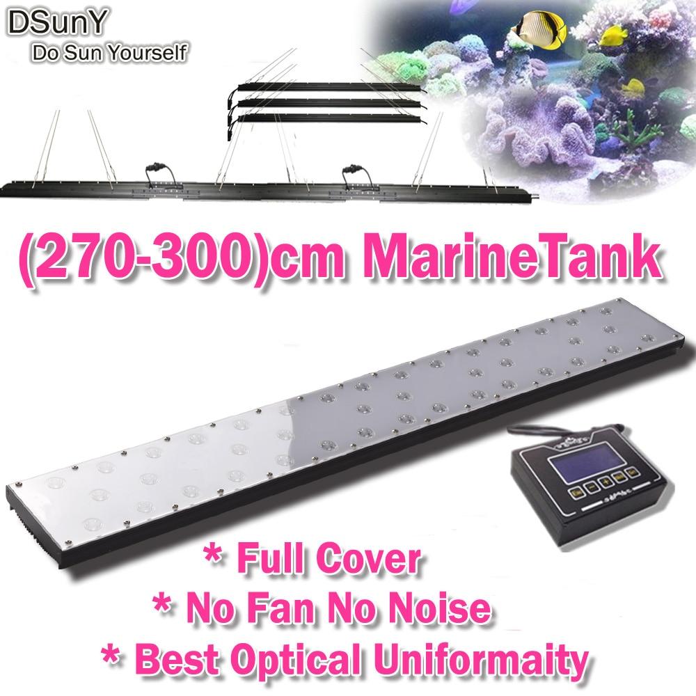 Fish in aquarium cycle - Dsuny Programmable Dimmable Led Aquarium Light 108inch 270cm 9ft Sps Lps Marine Fish Aquarium