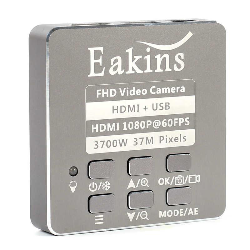 37MP 1080P HDMI промышленный видео микроскоп камера + 130X/180X/300X регулируемое увеличение c-крепление объектива для пайка ПХД ремонт