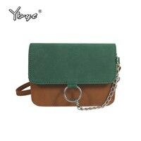 YBYT Brand 2017 New Vintage Casual Nubuck PU Leather Women Package Female Shopping Bag Ladies Shoulder