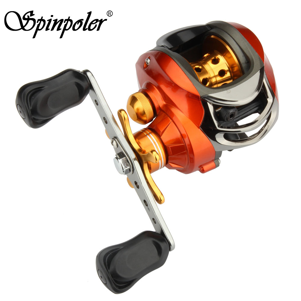 Cheap fishing reels bait casting 9 1bb left handed right for Cheap fishing reels