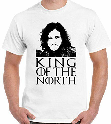 Roi du nord Jon Snow-T-Shirt drôle pour hommes Game Of Thrones obtenu John 2019 T-Shirt de mode t-shirts pour hommes nouveauté t-shirts