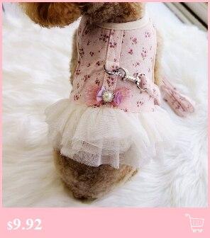 Nuevo moda mascotas vestidos para perros CQ22 pequeño Yorkshire Poodle  invierno otoño azul rosa blanco puntos lindo fiesta lindo fuentes del gato 9b14b8b5de1