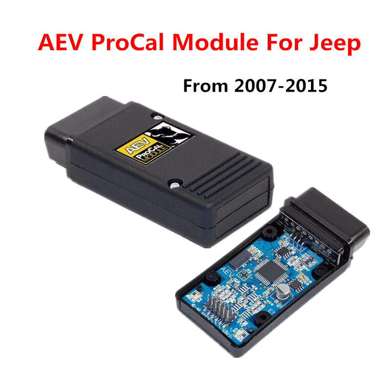 2017 Best quality AEV ProCal Module For Jeep Wrangler & Wrangler Unlimited JK aev procal module jk for Jeep AEV  плоскошлифовальная машина rupes sl 42 aev
