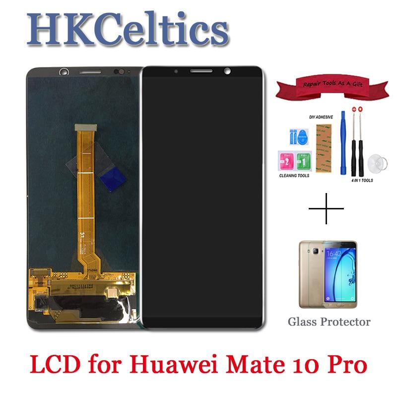 Remplacement de l'affichage pour Huawei mate 10 Pro écran LCD + écran tactile avec pièces d'assemblage de capteur de numériseur de cadre