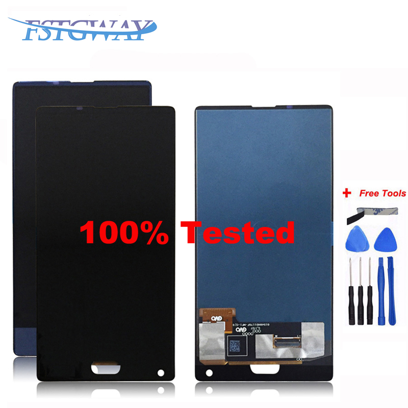 Black/Blue color For 5.5 inch Doogee mix LCD Display+Touch Screen 100% Tested Screen Digitizer Assembly Replacement+Free Tools