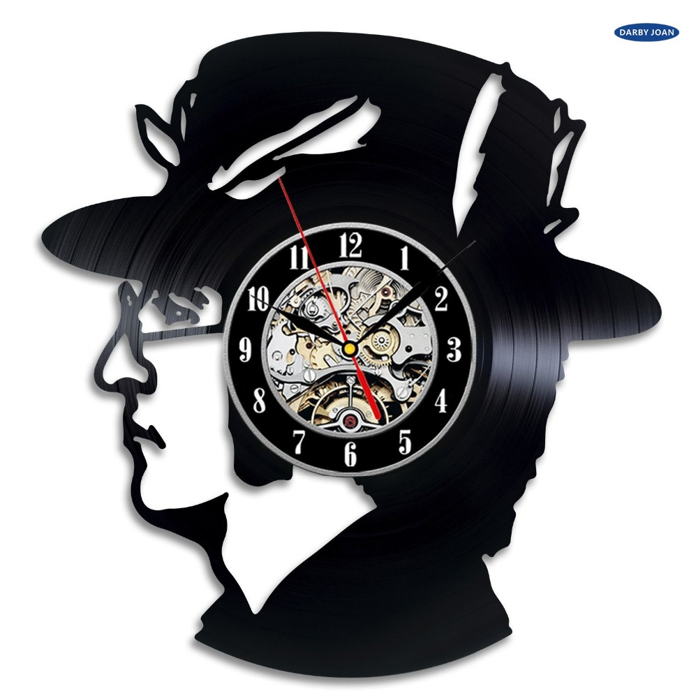 Aliexpress Com Buy John Lennon Gift Wall Clock Vinyl